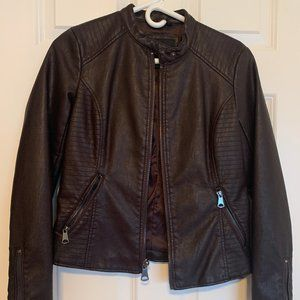 NWOT Marc New York Brown Leather Jacket